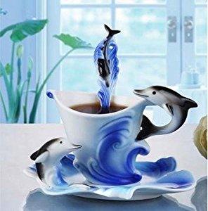 Elegant hanpainted China Tea Set