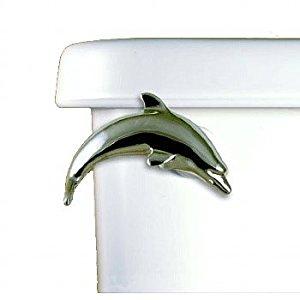 Dolphin Chrome Plated Flush Handle