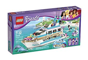 Lego Friends Dolphin Cruiser Building Set 41015 Discontinued