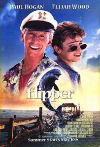 Flipper Movie Poster: Dolphin Movies